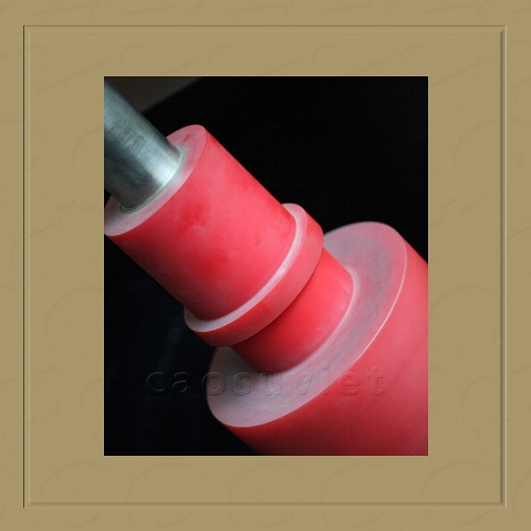 Pu rubber roll