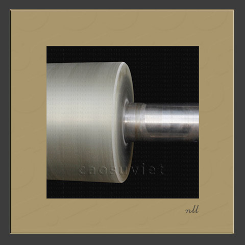 Varnish UV coating roller