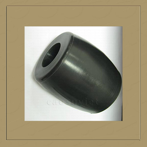 Rubber damping and washing
