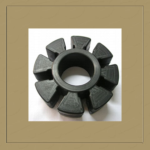 Star coupling rubber