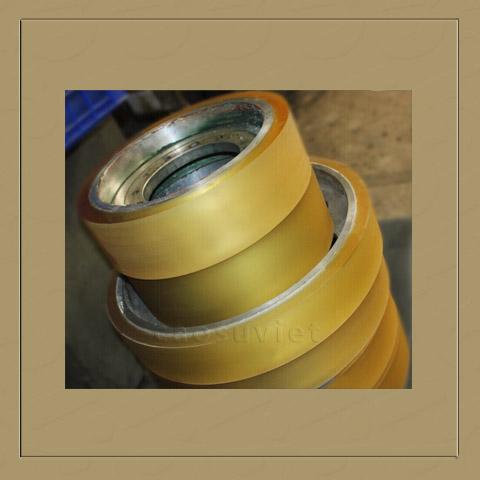 PU wheel varnish coating metal
